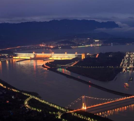 湖北宜昌三峡大坝